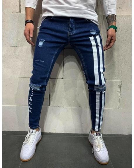 Jeans Azul Destroyer 1998 Design